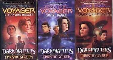 Ron corrals list of star trek books to read 19 21 dark matters christie golden fandeluxe Ebook collections
